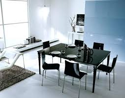 Modern Leather Dining Room Chairs Black Modern Dining Table U2013 Thelt Co