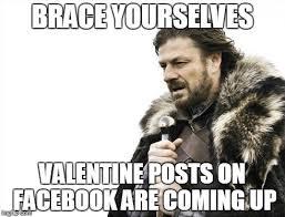 Facebook Post Meme - valentine posts imgflip