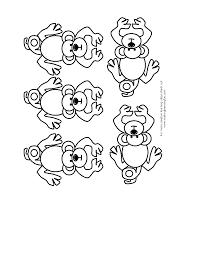 five little monkeys clipart 51
