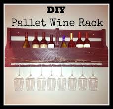 diy to try u2013 pallet wine rack