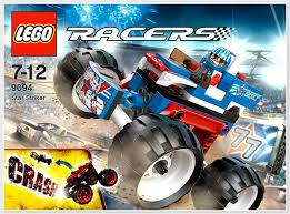 lego racers truck lego racers striker captain stunt and his truck