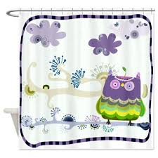 Animal Shower Curtain Cartoon Animal 2 Shower Curtain Kawelamolokai Com