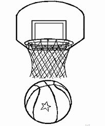 Training Coloring Pages Training Basketball Free Printable Basketball Color Page