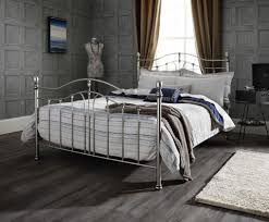 camilla antique black nickel metal bed frame available to buy in