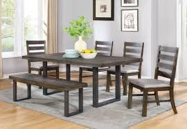 Urban Dining Room Table - urban rustic dining table set