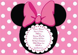 minnie mouse invitations etsy alesi info