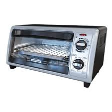 Under Counter Toaster Oven Black And Decker Black Decker 4 Slice Stainless Steel Toaster Oven To1332sbd The