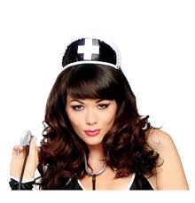 h113 black nurse hat with cross wholesale manufacturer