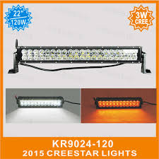 22 inch road led flash light bar color change white led