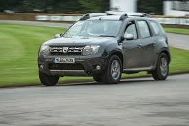 duster dacia dacia duster facelift revealed at goodwood autocar