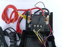 ultimate winch solenoid control box with remotes 500amp solenoid