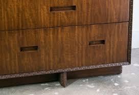 Henredon Bedroom Furniture by Frank Lloyd Wright For Henredon Dresser Credenza Sold