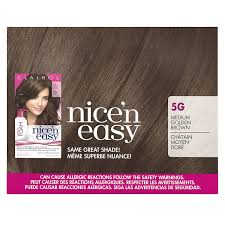 Beautiful Brown Color Nuance Amazon Com Clairol Nice U0027n Easy Foam Hair Color 5g Medium Golden