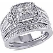 Sterling Silver Wedding Ring Sets by Sterling Silver Bridal Sets