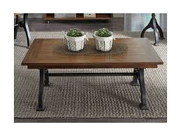 Motion Coffee Table - liberty furniture arlington industrial rectangular cocktail table