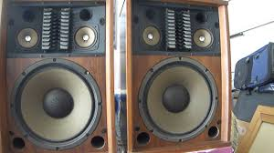 nice vintage 3500 sansui speakers great sound youtube
