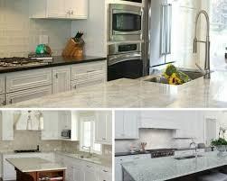 white kitchen cabinets with river white granite 5 timeless white on white kitchen looks