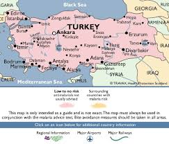 printable pictures of turkey the country turkey country map turkey malaria map fit for travel 525 x 450