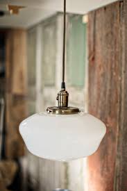 Schoolhouse Style Pendant Lighting Lucent Lworks Pendant Light Schoolhouse Style Opal 12