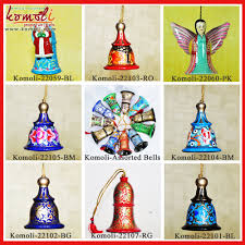 abstract design hand painted indian paper mache christmas