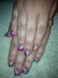 285 best nails images on pinterest acrylic nail designs purple