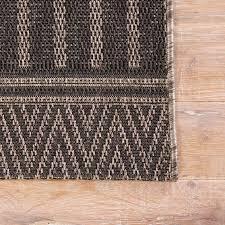 Geometric Outdoor Rug Geometric Stripe Indoor Outdoor Rug Shades Of Light