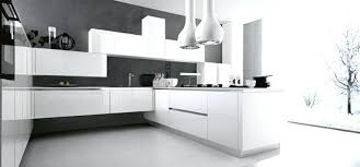 cuisine blanche laquee cuisine moderne blanc laquac trendy cuisine moderne cuisine