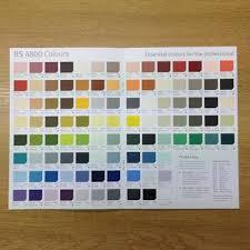 johnstone u0027s colour chart basic colour card buy oil lubricants