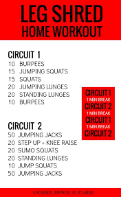 leg shred at home travel workout workout legs and tabata