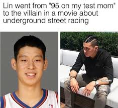 Jeremy Lin Meme - nba memes on twitter jeremy lin went from a student to fast