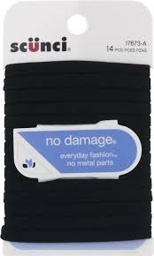 scunci hair ties scunci no damage hair ties 14 count pack of 14 rite aid
