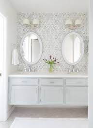 bathroom backsplash tile ideas best 25 vanity backsplash ideas on bathroom