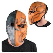 batman arkham origins deathstroke deluxe overhead mask rubies