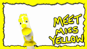 Color Yellow Meet Miss Yellow Color Kids Learning Colors Kids Educational
