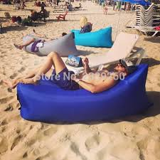 purple outdoor bean bag air inflatable sofa fast instant air