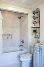 best 25 small bathroom bathtub ideas only on pinterest flooring small bathtub shower combo see more chip and joanna gaines help a young couple turn a run of the