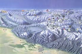 map of colorado ski resorts colorado ski map large size