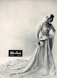bridesmaid dresses richmond va 1949 ad vintage wedding dress bridal fashion miller rhoads