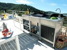 meuble cuisine exterieur inox meuble cuisine exterieur cuisine dextrieur cuisines compltes