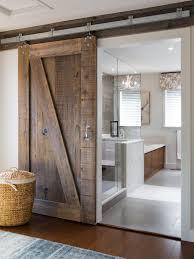 Interior Sliding Barn Doors For Homes Barn Door For Bathroom
