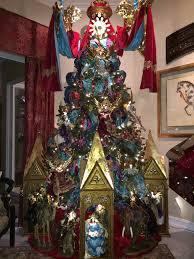 nativity themed christmas tree nicholas christmas holiday