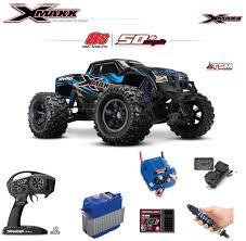 traxxas monster jam trucks traxxas tra77086 4 blue x maxx 8s 4wd brushless rtr monster truck