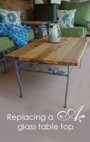 Diy Outdoor Wooden Table Top by Best 25 Glass Table Top Replacement Ideas On Pinterest Glass