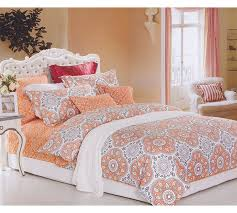 100 Cotton Queen Comforter Sets Top 100 Cotton Comforter Sets In Twin Xl Mandala Peach Bedding