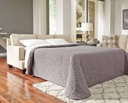Queen Sofa Sleepers brielyn linen queen sofa sleeper benchcraft furniturepick