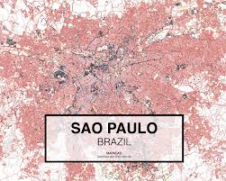 Cherry Blossom Map Sao Paulo Dwg Mapacad