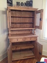 knotty pine antique hutch furniture pinterest antique