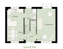 Walton House Floor Plan by The Walton Westerman Homes