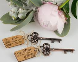 key bottle opener wedding favors key bottle opener etsy