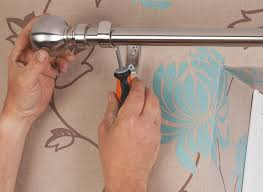 How To Put Blinds Down How To Put Up Curtains U0026 Blinds Help U0026 Ideas Diy At B U0026q